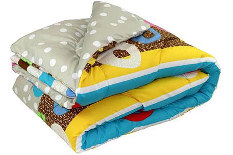 Одеяло силиконовое Руно Краски Остра демисезонное 200х220 евро, фото 2