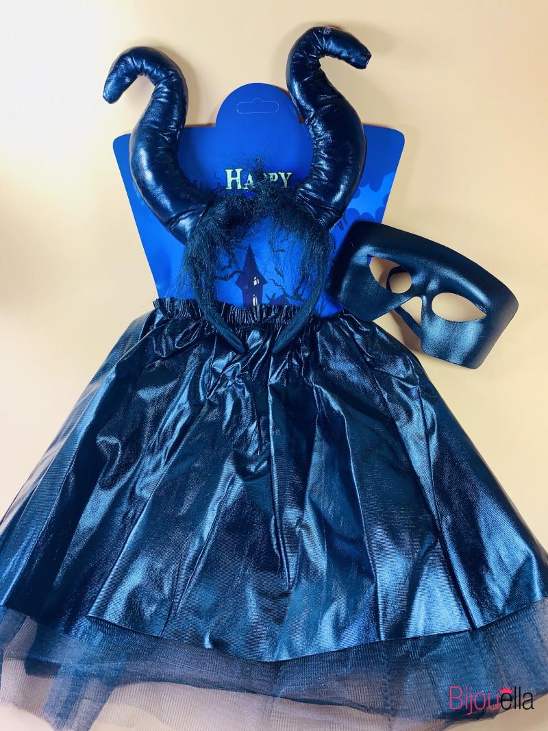 Маскарадный детский костюм Малефисента на Хеллоуин карнавал