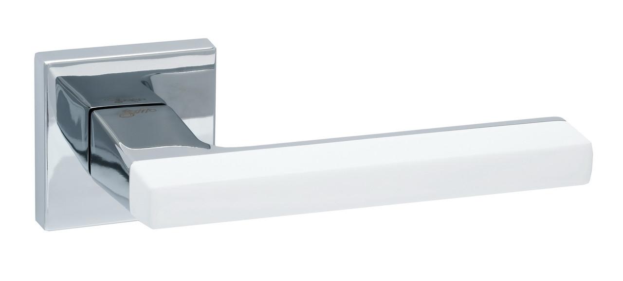 Ручка Safita Combo білий/хром