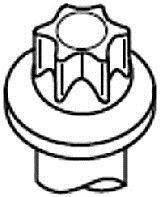 Болты головки двигателя на  2.0dCi+2.5dCi+2.3 dCi (длинна 132мм)  (Германия) 14-32231-01