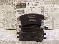 Тормозные колодки передние Renault Kangoo II 08- (диски R15/R16) 410601334R оригинал