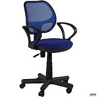 Кресло Чат/АМФ-4 Сетка синяя ТМ АМФ