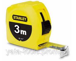 Рулетка измерительная STANLEY в пластиковом корпусе,3м