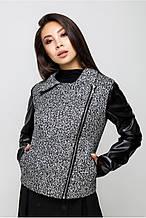 Куртка Косуха MModa серая, 00494