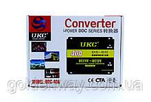 Автомобильный понижающий преобразователь напряжения инвертор UKC DC/DC с 24v на 12v мощность 40A