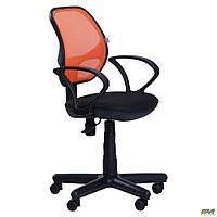 Кресло Чат/АМФ-4 сиденье А-1/спинка Сетка оранжевая ТМ АМФ