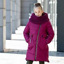 Зимнее пальто Минова 236-1 вишня