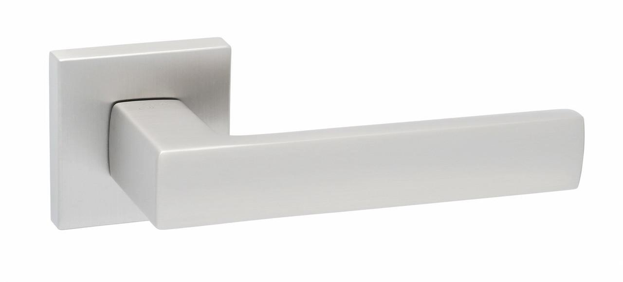 Ручки дверные Safita Strong HT MSN - матовый сатин никель