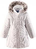 Пальто для девочки, Lassie by Reima, светло-бежевое (104) (721698_0111 св.бежевий)
