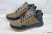 Мужские кожаные зимние кроссовки New balance (Реплика) (Код: 100 ол  ) ►Размеры [40,41,42,43,44,45], фото 1