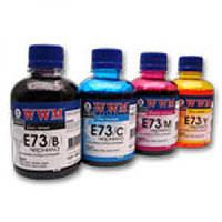 Водорастворимые чернила WWM E73 / C Cyan (200 ml) (Совместимость: EPSON B300 / B500DN, STYLUS C110 / C79 / C91
