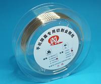 Струна для снятия стекла сенсора молибденовая Gold (0.1mm * 500m)