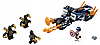 Конструктор Супергерои Марвел Капитан Америка: Атака Аутрайдеров Bela 11258 191 деталей, фото 4