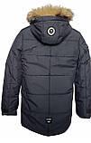 Синя куртка на підлітка зимова, 140-164, фото 6