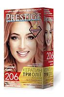 Стойкая краска для волос vip's Prestige №206 Розовый коралл