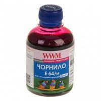 Водорастворимые чернила WWM E73 / M Magenta (200 ml) (Совместимость: Epson L 100/110/200/210/300/350/355/550;