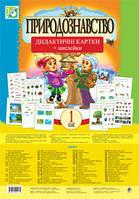Природознавство. 1 клас. Дидактичні картки + наклейки (до підручників Гільберг Т.Г., Грущинської І.В.)