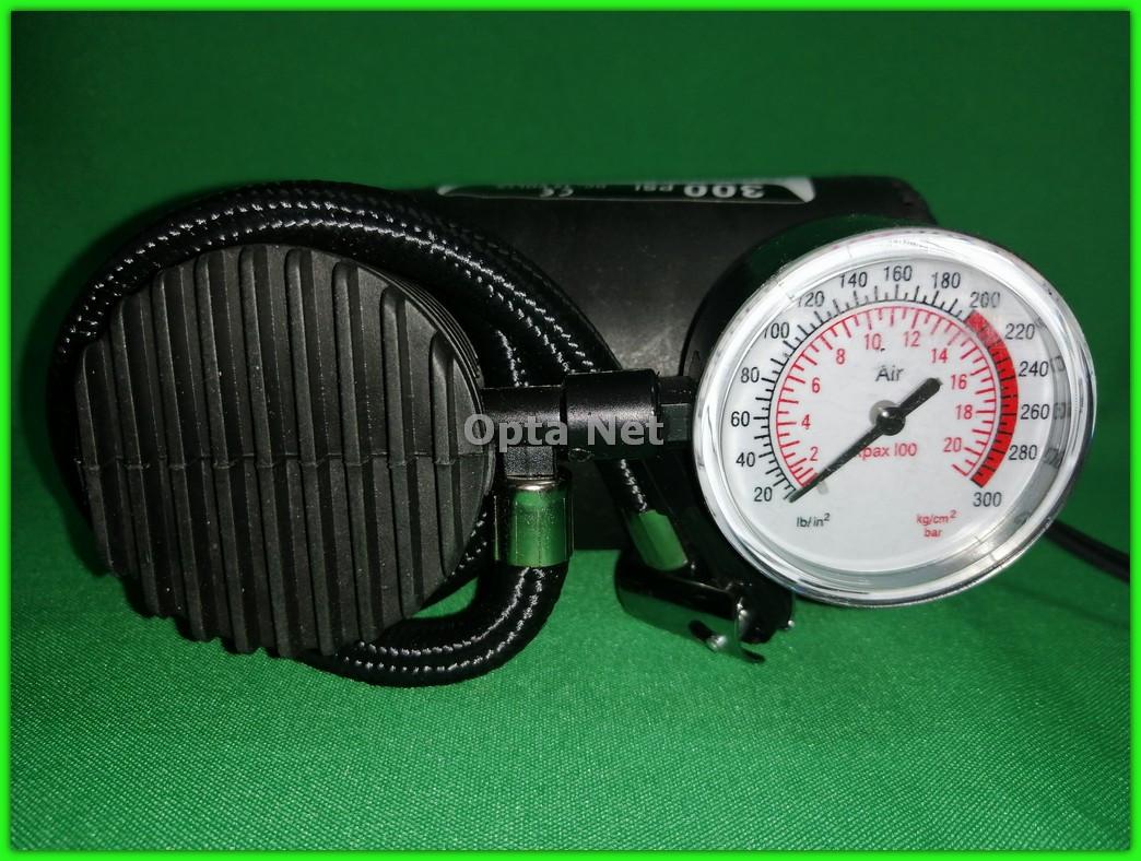 Электрический автомобильный компрессор (насос)  от прикуривателя