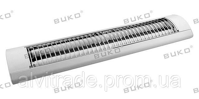 Светильник с электронным зажиганием BUKO BK3018 2*36W Т8 с решёткой - ООО «Альви-Трэйд» в Днепре