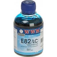 Водорастворимые чернила WWM E82 / C Cyan (200 ml) (Совместимость: Epson Artisan 1430 Американский рынок / 50 А