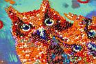 Набор-миди для вышивки бисером Веселая троица (20 х 20 см) Абрис Арт AMB-054, фото 2