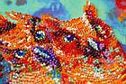 Набор-миди для вышивки бисером Веселая троица (20 х 20 см) Абрис Арт AMB-054, фото 4