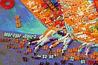 Набор-миди для вышивки бисером Веселая троица (20 х 20 см) Абрис Арт AMB-054, фото 3