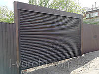 Гаражные рулонные ворота ТМ HARDWICK ш3500, в2100, фото 4