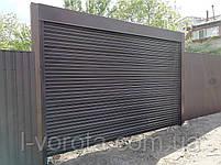 Рулонные ворота (стальной профиль 76) ТМ HARDWICK ш3500, в2100, фото 4