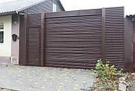 Рулонные ворота (стальной профиль 76) ТМ HARDWICK ш3500, в2100, фото 5