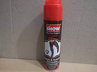 SHOW краска восстановитель для нубука и замши 250мл, коричневая. Турция.
