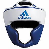 Шлем тренировочный Adidas Response, бело-синий
