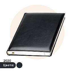 Ежедневник 'Топ' 2021 (Черный), Датированный, Кремовая бумага, под нанесение логотипа, Lediberg
