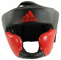 Шлем тренировочный Adidas Response ADIBHG023-BKRD, черно-красный