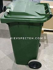 Контейнер пластиковий, iplast EN 840-120 л, фото 2