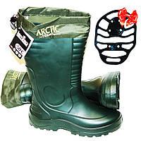 Чоботи з зимовим панчохою Lemigo Arctic termo 875. -50 С. Оригінал (виробництво Польща)., фото 1