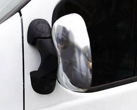 Накладки на дзеркала (пластик) 2 шт. Renault Trafic, Opel Vivaro, 2001-2014, Carmos CAR0156