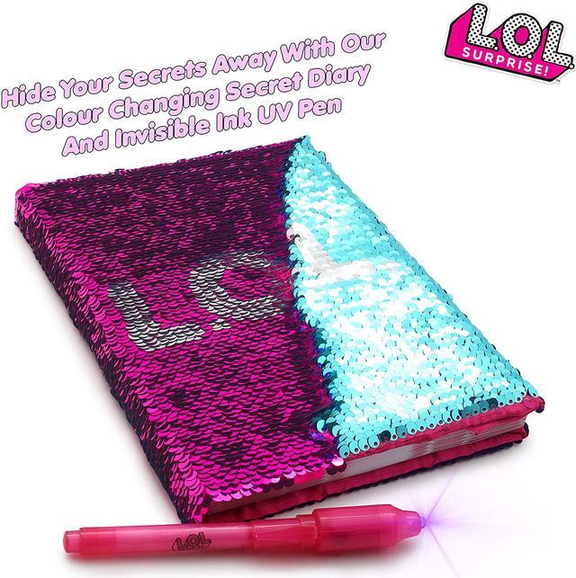 лол щоденник дневник с пайетками