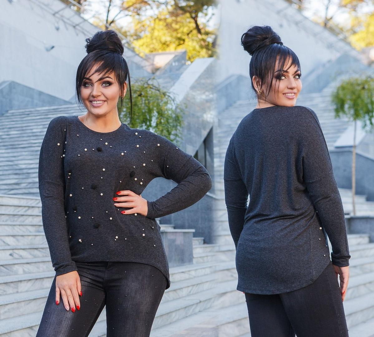 Женская модная туника  ДГат18.106 (бат)