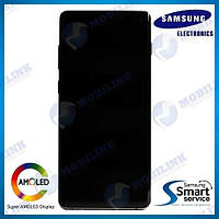 Дисплей на Samsung G975 Galaxy S10+/Plus Белый(Ceramic White),GH82-18849J, Super AMOLED!