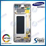 Дисплей на Samsung G975 Galaxy S10+/Plus Белый(Ceramic White),GH82-18849J, Super AMOLED!, фото 2