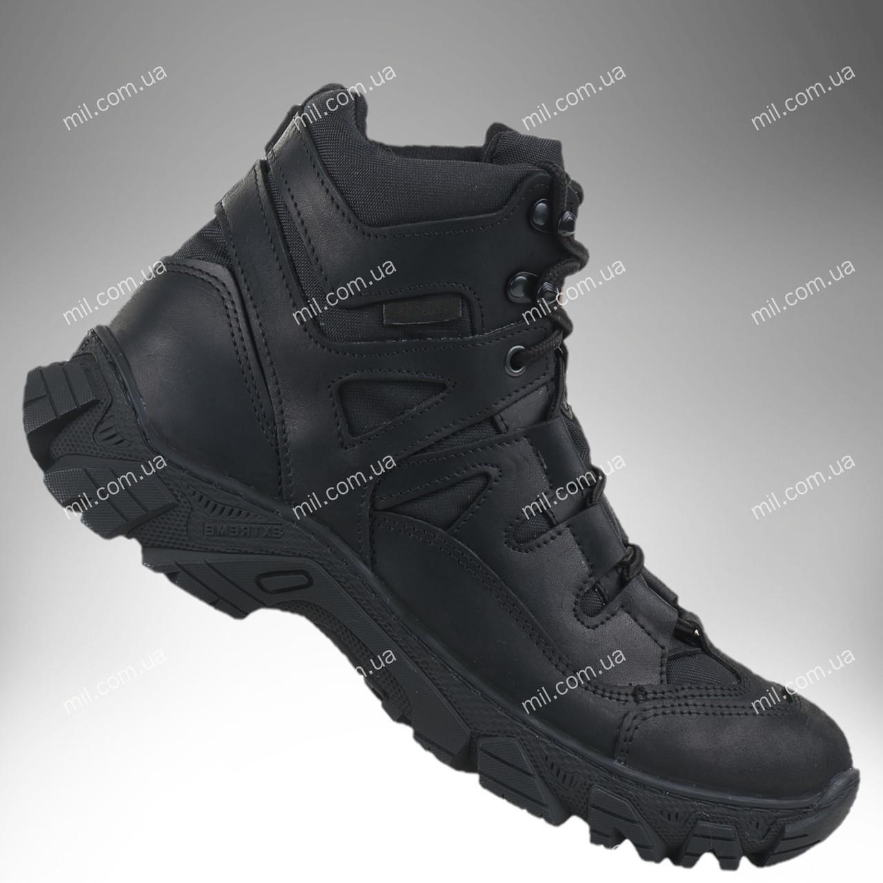 Тактическая зимняя обувь / военные, армейские ботинки Tactic HARD Gen.II (черный)