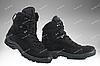Тактические зимние ботинки / армейская военная обувь GROM (черный), фото 2