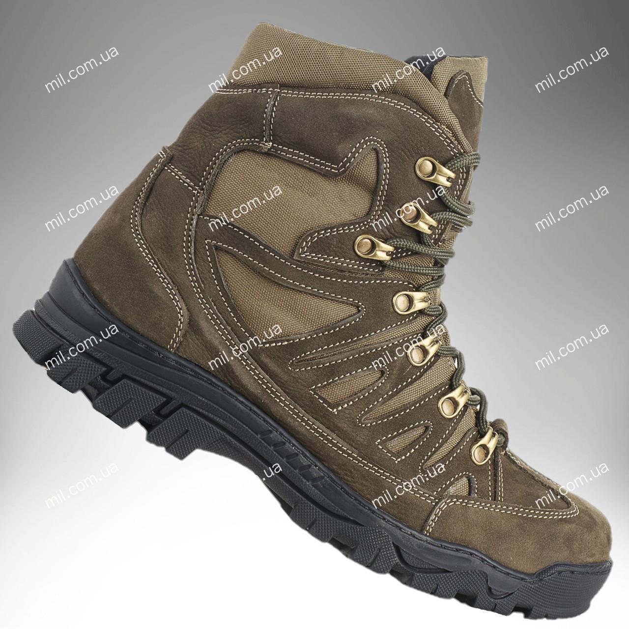 Ботинки тактические зимние / военная, армейские обувь КАСКАД (оливковый)