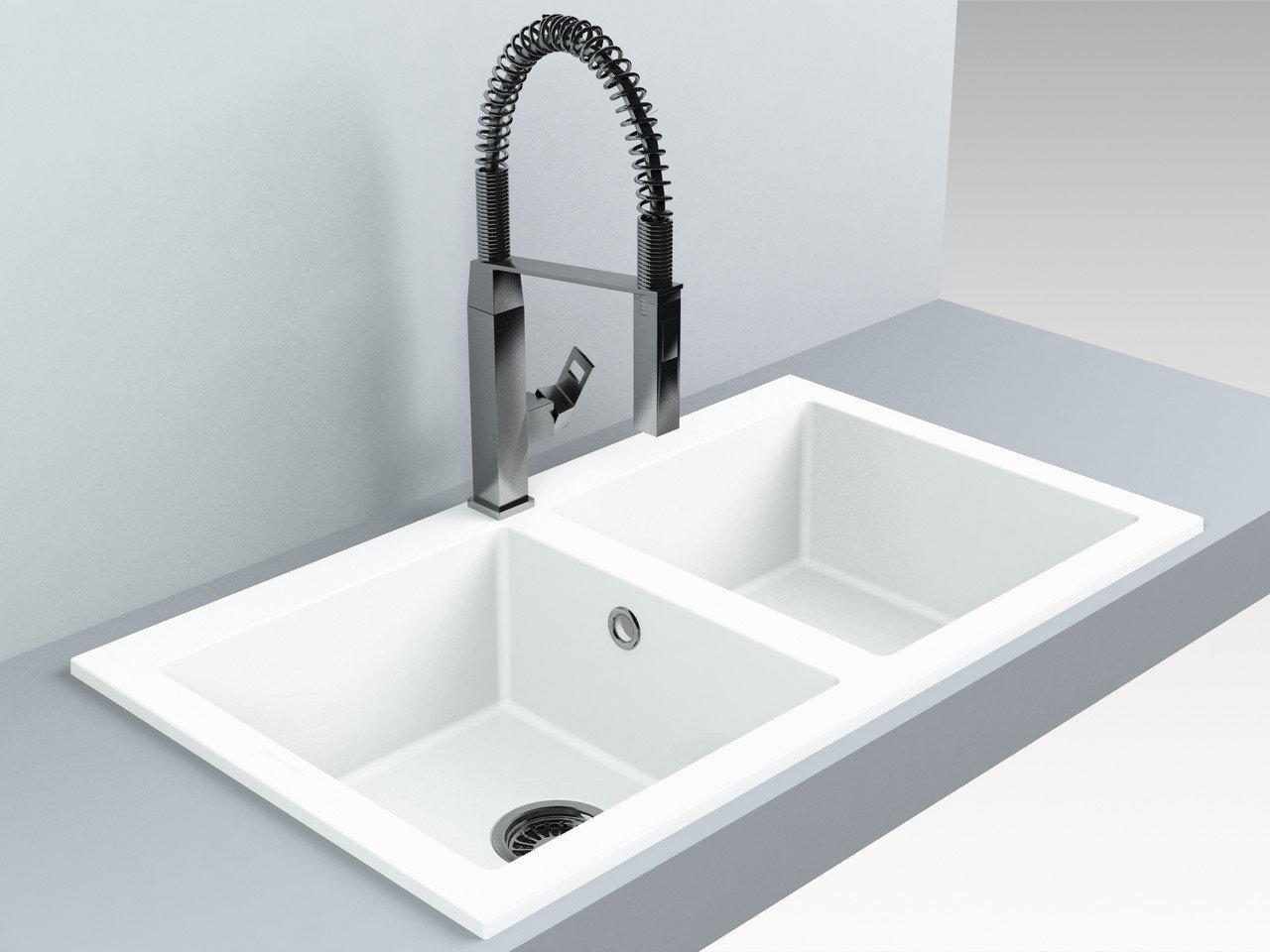 Кухонна мийка Miraggio Westeros White