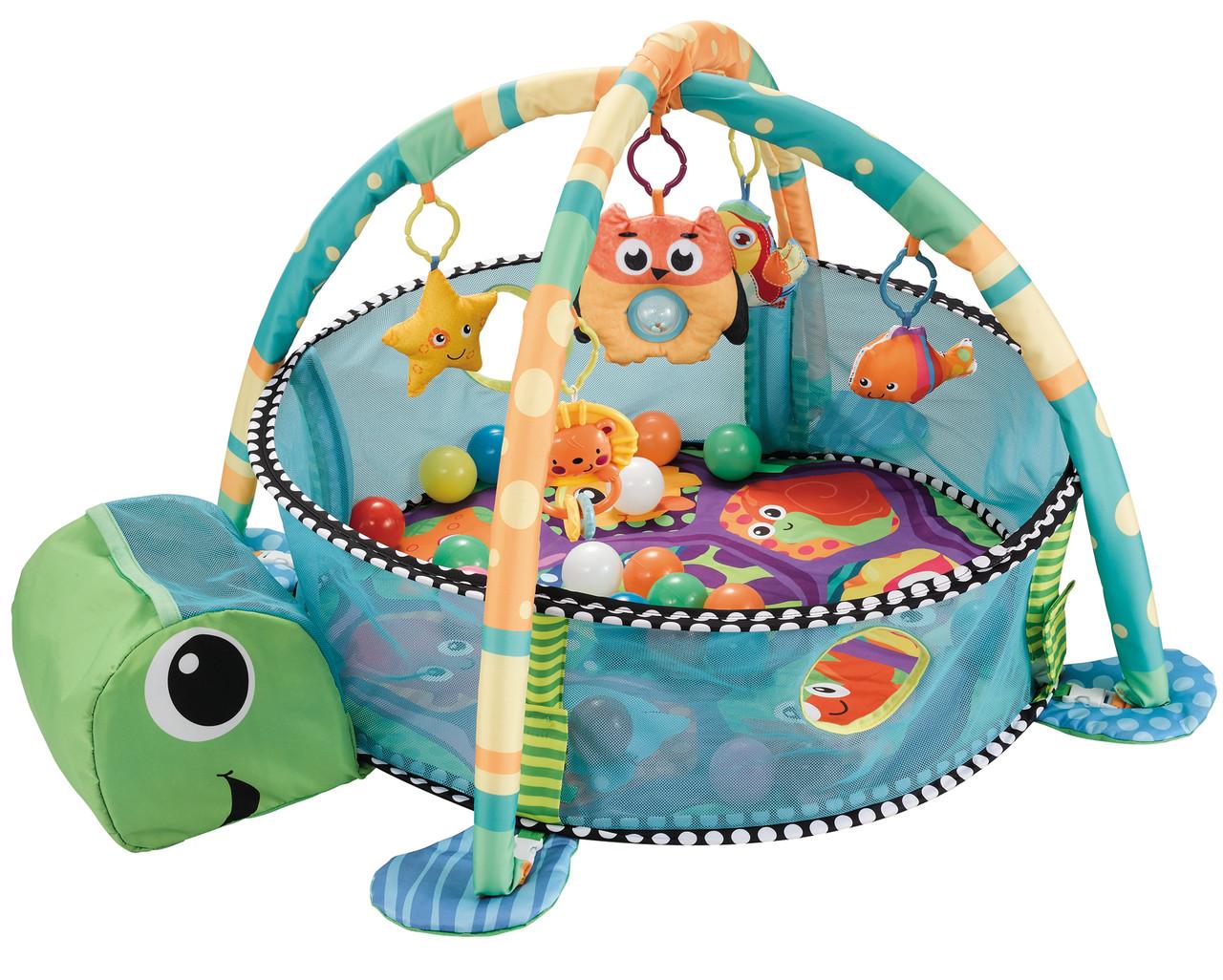 Развивающий коврик Happy Space Черепаха 518-60