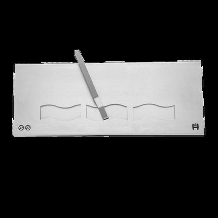 Пальник біокаміна (паливний блок) HITZE довга, фото 2