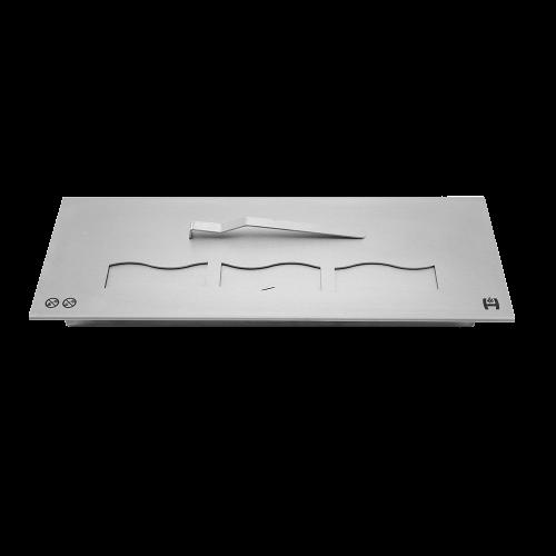 Пальник біокаміна (паливний блок) HITZE довга