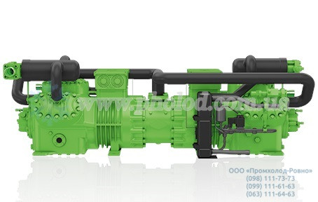 Полугерметичный двухступенчатый тандем компрессоров Bitzer S66F-60.2Y-40P