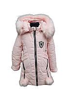 Зимняя тёплая курточка для девочки на меху